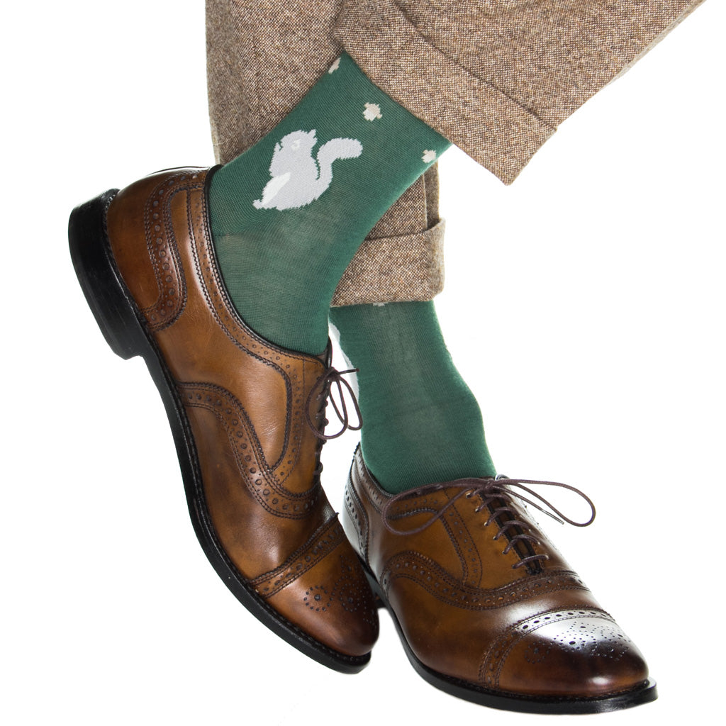 Mens-Squirrel-Sock