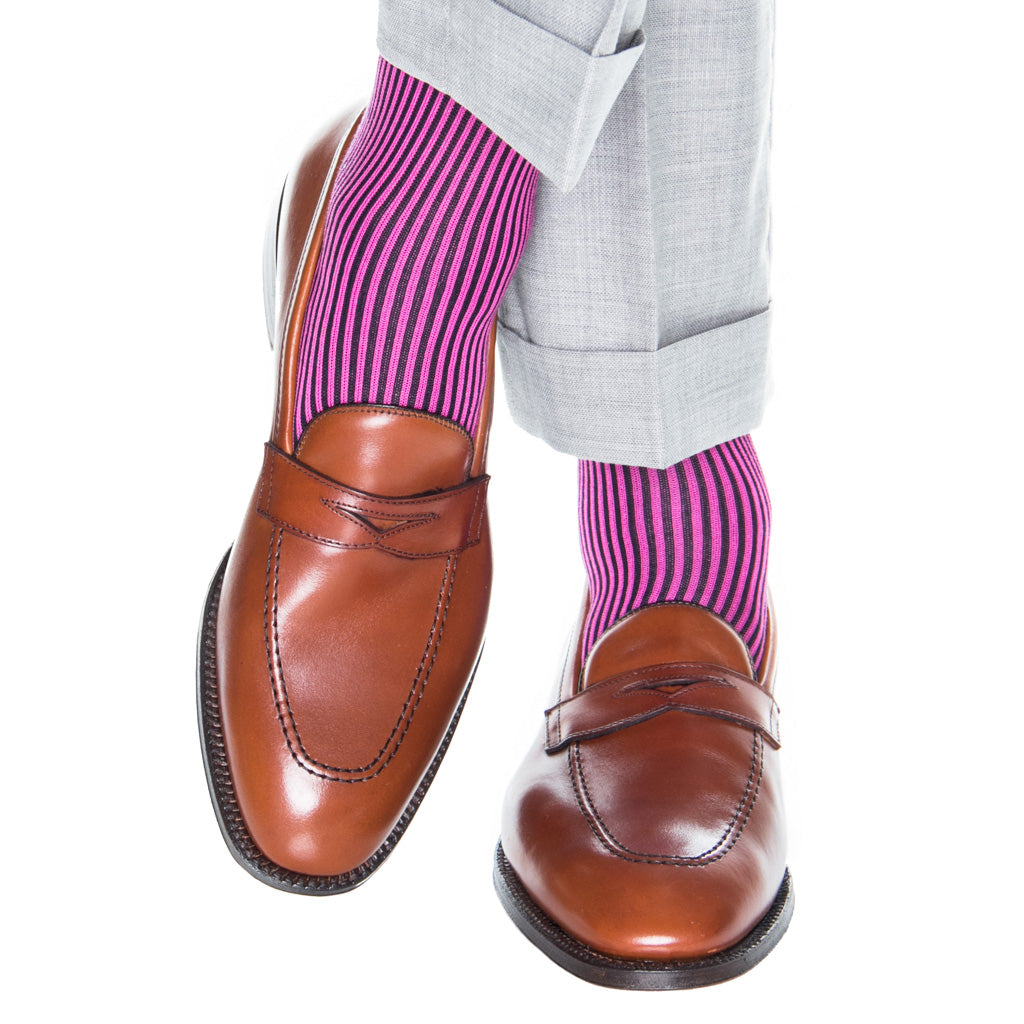 navy-rose-stripe-sock
