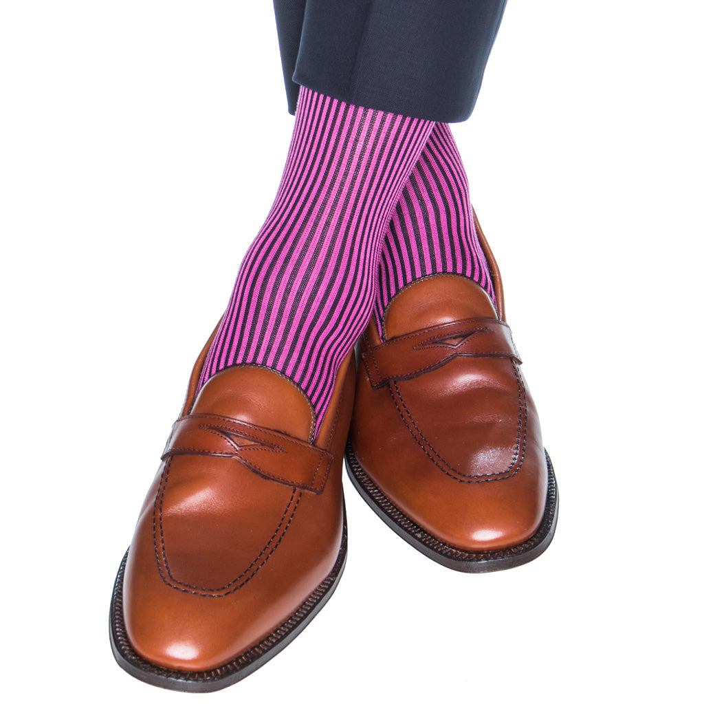 vertical-stripe-sock