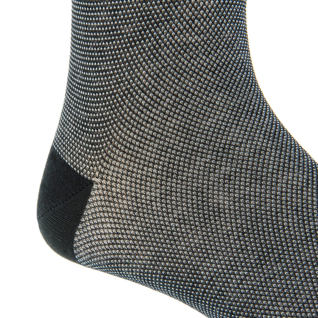 Fancy-mens-black-dress-socks