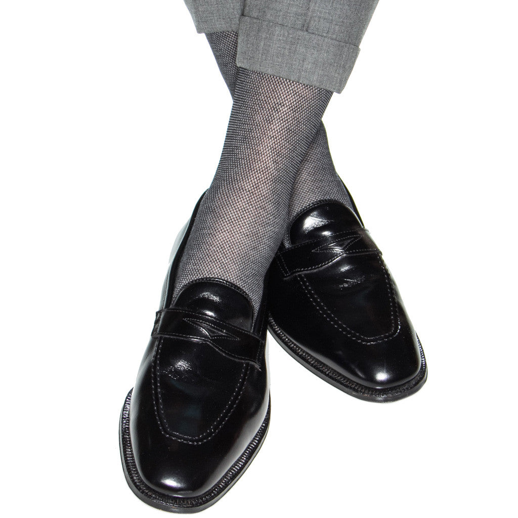 Mens-Birdseye-Socks