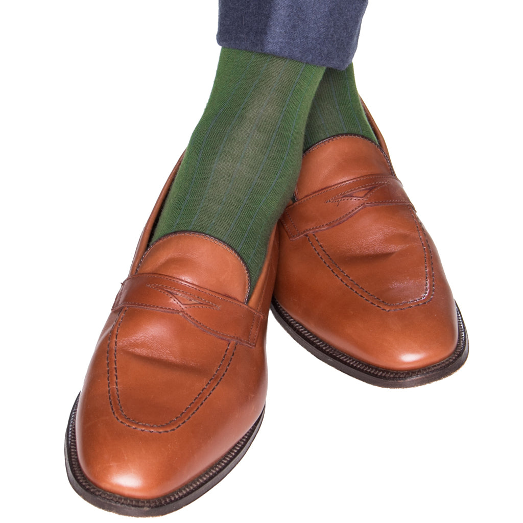 Green-Wool-Sock