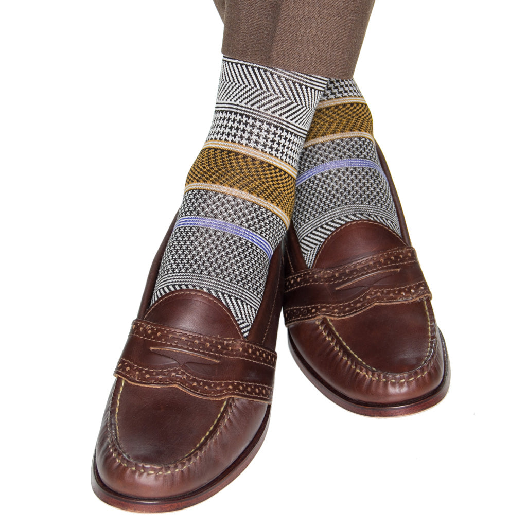 Chevron-Mens-Dress-Sock