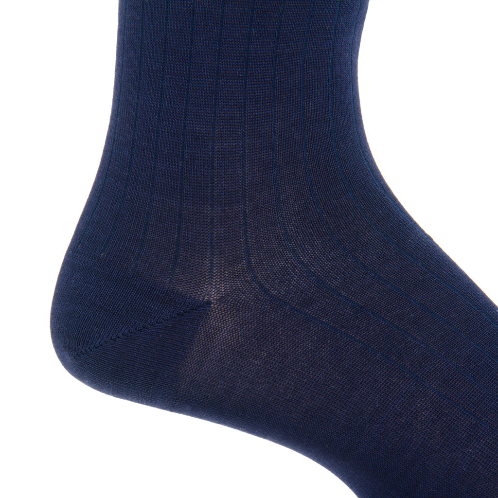 Mens-Navy-Sock
