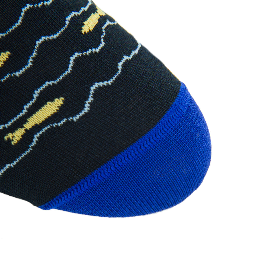 Navy-Fish-Sock