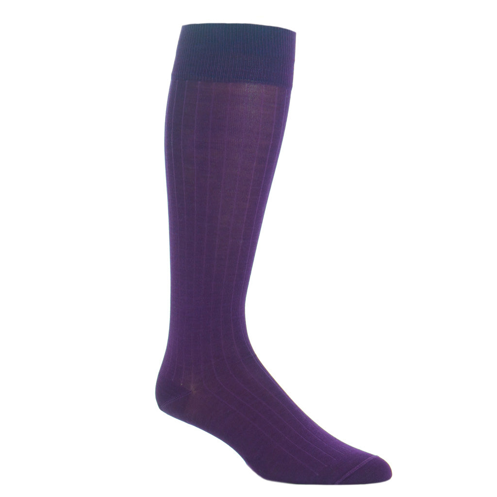 Purple-Cotton-Sock