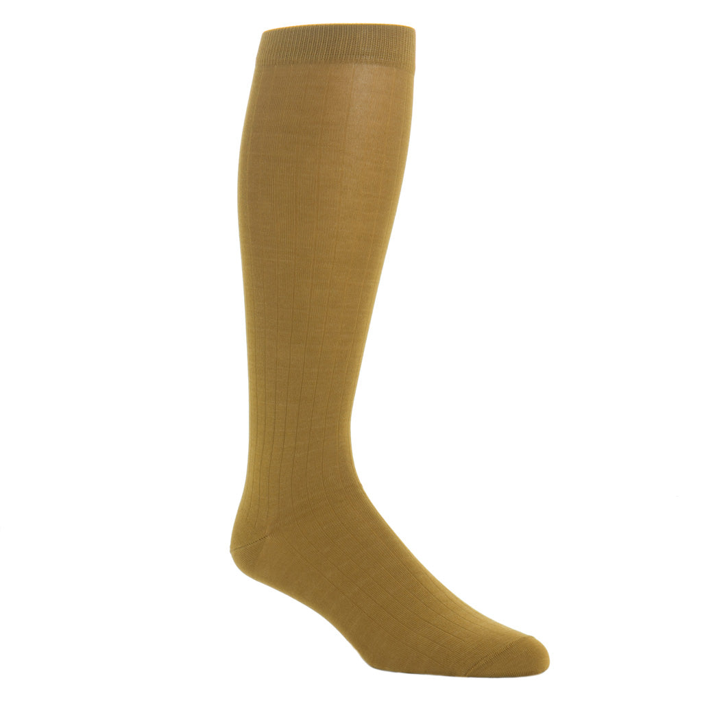 Gold-Solid-Sock