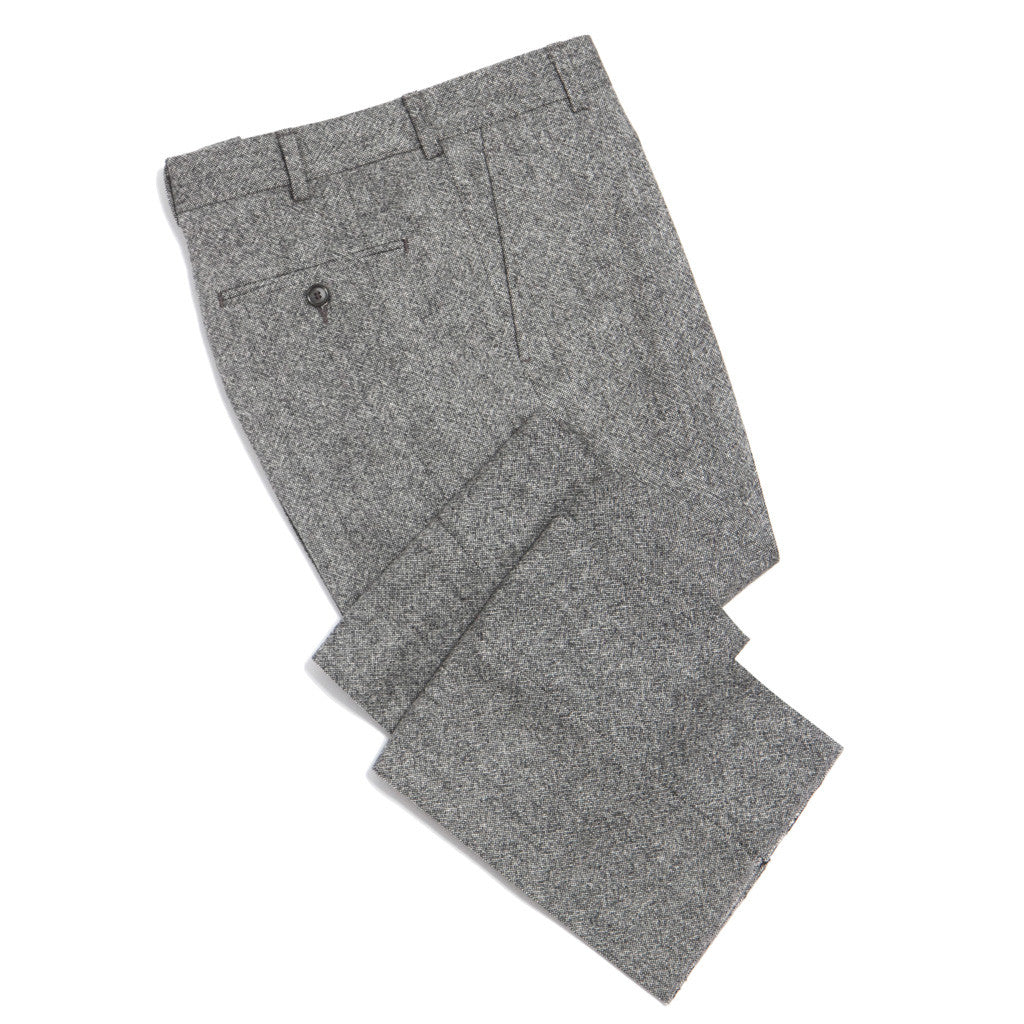 Mens Glenn Plaid Wool Trousers