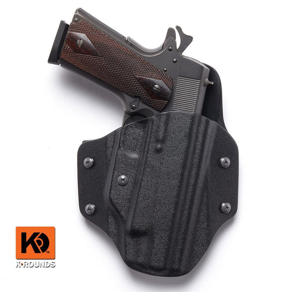Kydex 1911 OWB Pancake Front Conceal Carry