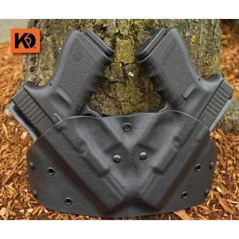 OWB Double Pancake - K Rounds, LLC Kydex, Holster