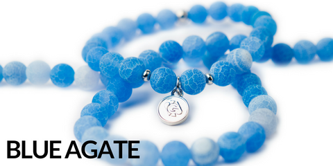 Blue Agate Gemstone