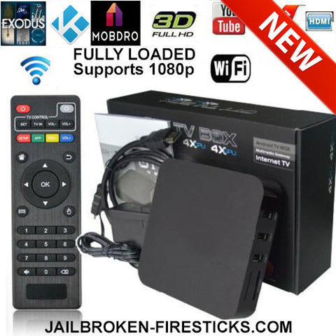 smart tv box with kodi