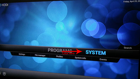 fix blue screen kodi firestick