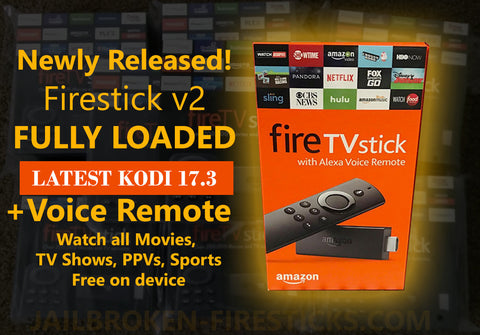 Amazon Fire Stick with Kodi 17.3 FULLY LOADED with KRYPTON NEW EDITION JUNE 21 2017