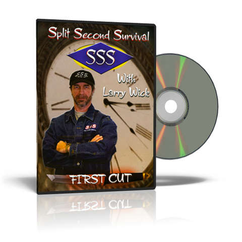 Split Second Survival FIRST CUT Self-Defense DVD