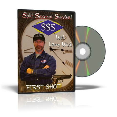 Split Second Survival FIRST SHOT Self-Defense DVD