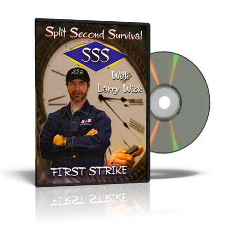 Split Second Survival FIRST STRIKE Self-Defense DVD