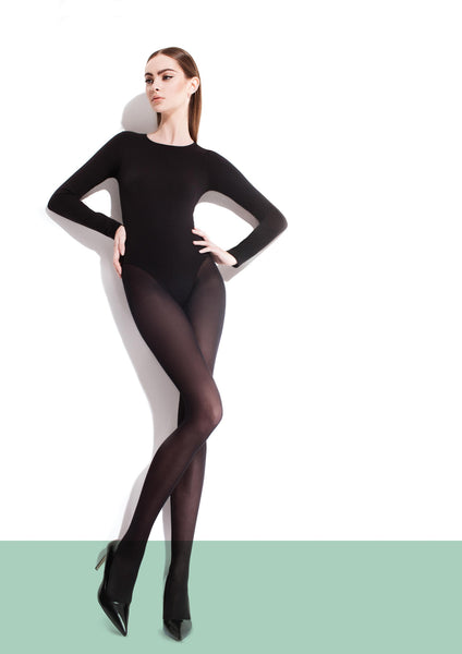PAULA 40 DEN microfibre tights