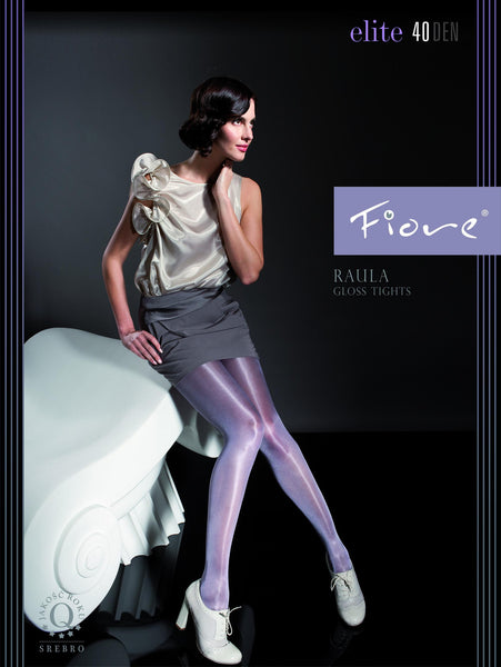RAULA 40 DEN gloss tights