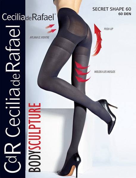 SECRET SHAPE 60 DEN shaper tights