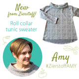 New sweater pattern AMY
