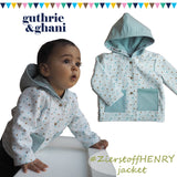Henry baby jacket review by Guthrie & Ghani