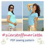 New Pattern: Marietta Shirt