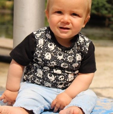 Rajan baby shirt PDF sewing pattern