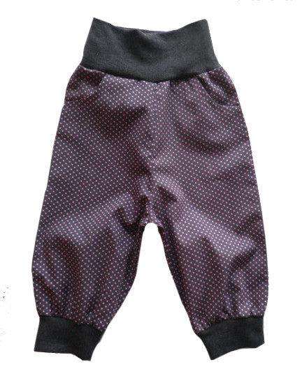 NICKIs baggy trouser pattern (3/4 length optional), sizes 110-152 (5-12 yrs.)