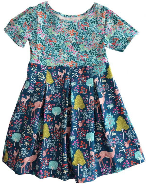 Pia dress PDF sewing pattern