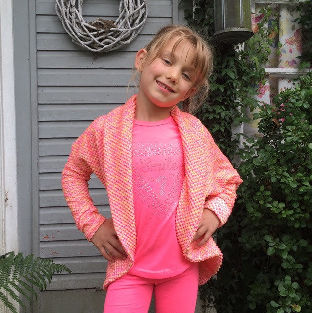 Melissa cardigan PDF sewing pattern