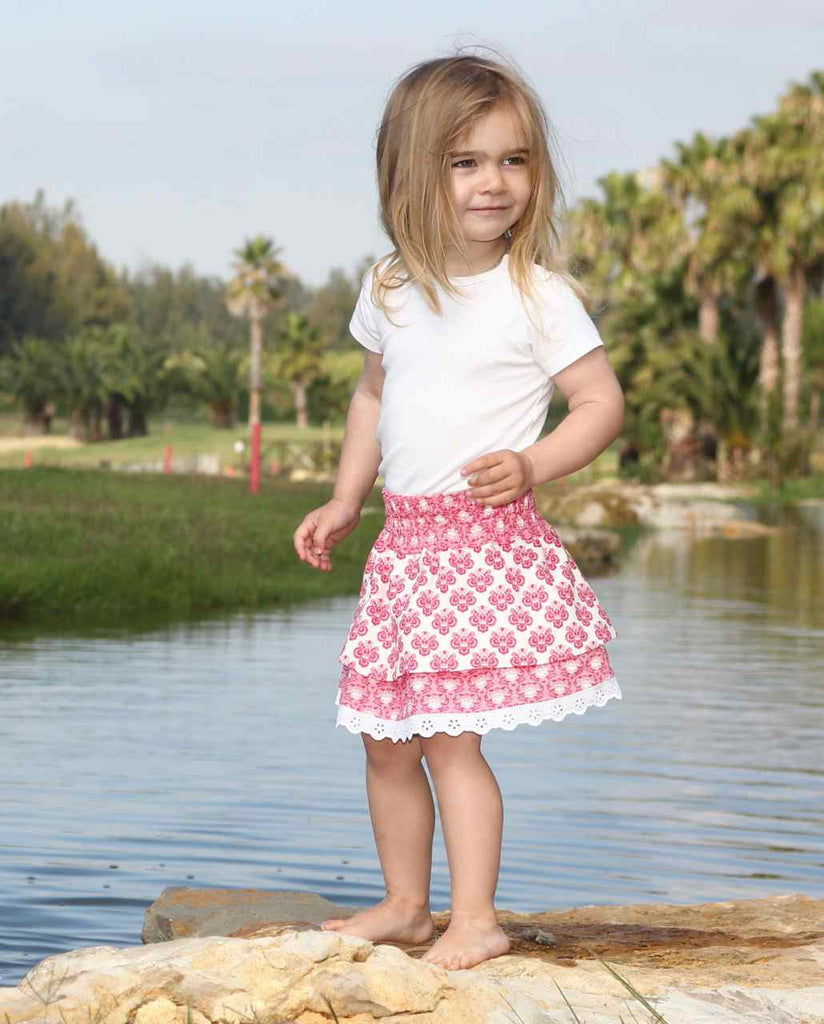 Marlie  skirt - two versions PDF sewing pattern