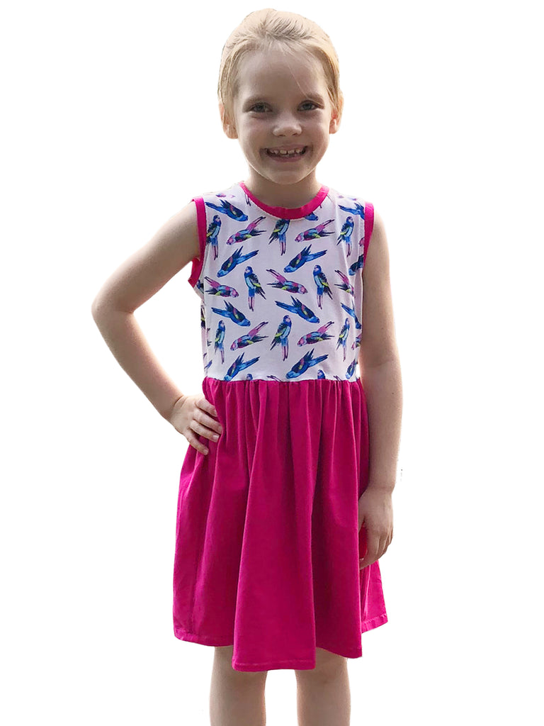 Paulina jersey dress PDF sewing pattern
