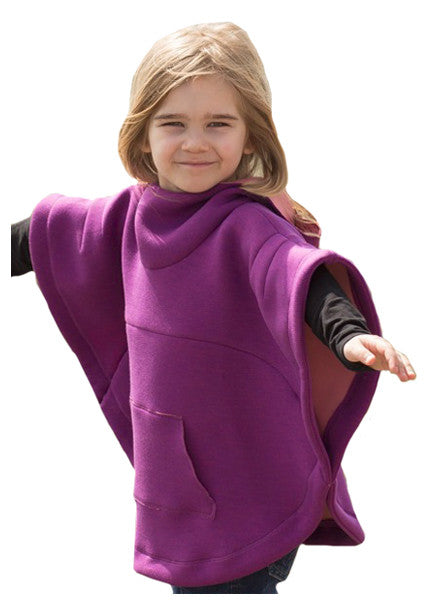 Luna poncho cape PDF sewing pattern