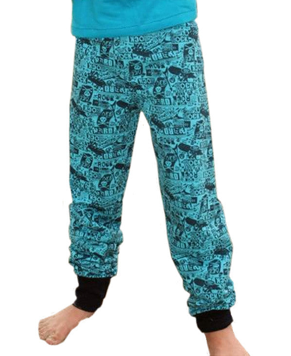 Maxi baggy pants PDF sewing pattern