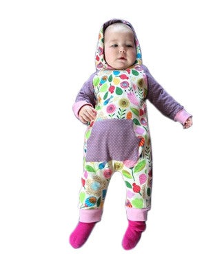 Freddy romper suit PDF sewing pattern