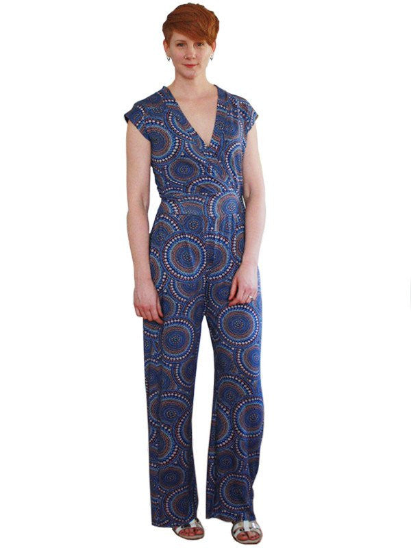Henrike jumpsuit PDF sewing pattern