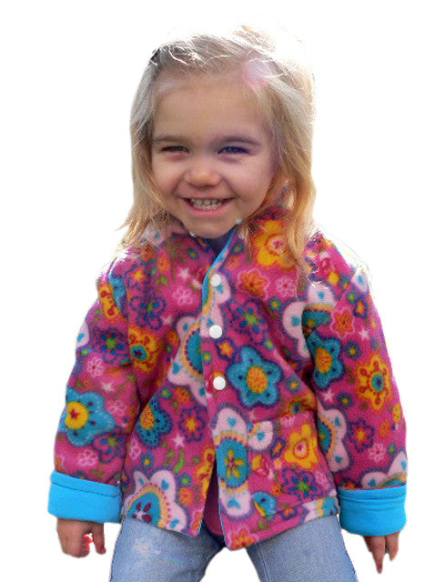 Henry reversible hooded jacket PDF sewing pattern