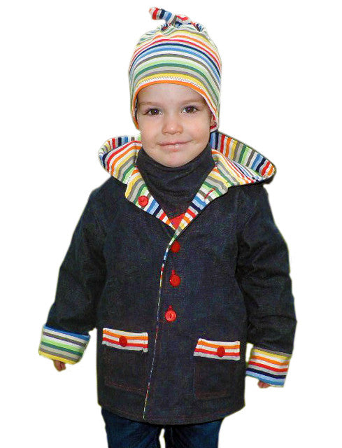 Henry hooded jacket PDF sewing pattern