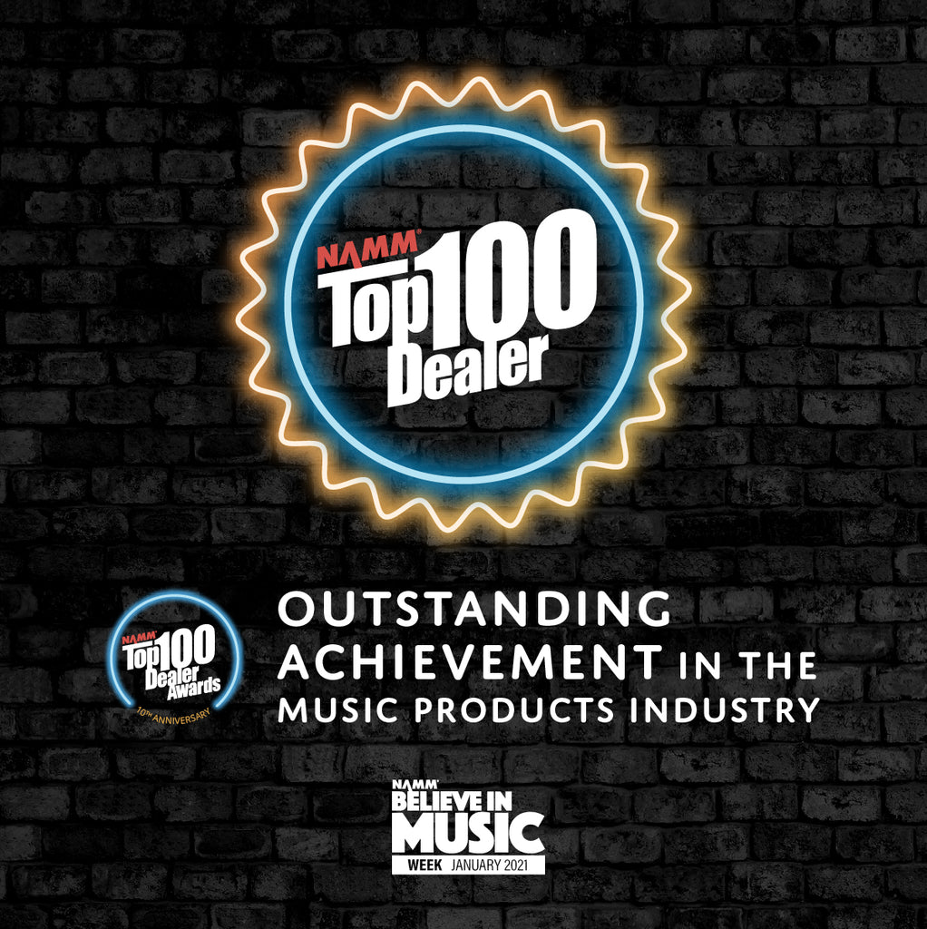Backstage Music Named A Top 100 Music Store In 2020