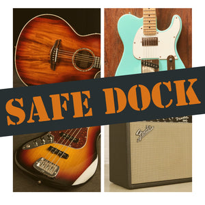 SAFE DOCK: Ship Your Gear To Backstage Music