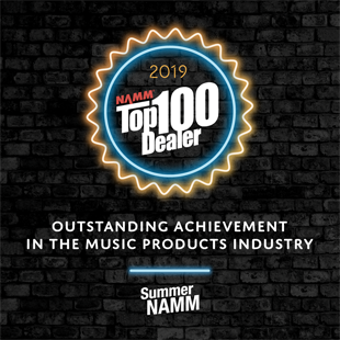 Backstage Music Named 2019 NAMM Top 100 Dealer