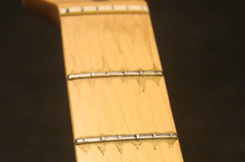 badly worn frets, backstage music, starkville, ms