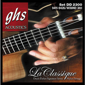 GHS Doyle Dykes Classical Guitar Strings