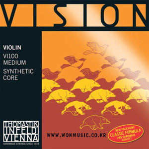 Violin, Vision Medium 4/4 Set