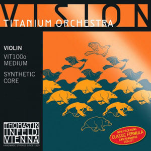 Violin, Vision Titanium Solo Medium 4/4 Set