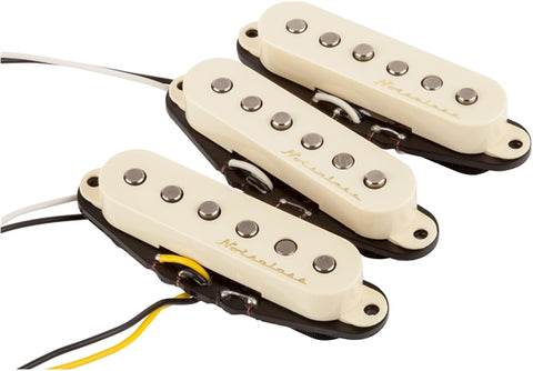 Fender Vintage Noiseless Stratocaster Pickups (Set of 3), New