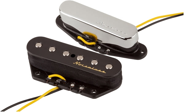 Fender Vintage Noiseless Telecaster Pickups (Set of 2), New