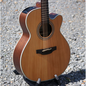 Takamine GN20CE Acoustic/Electric Guitar, Solid Cedar Top, New