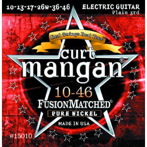 Curt Mangan Pure Nickel 10-46 Electric Guitar Strings